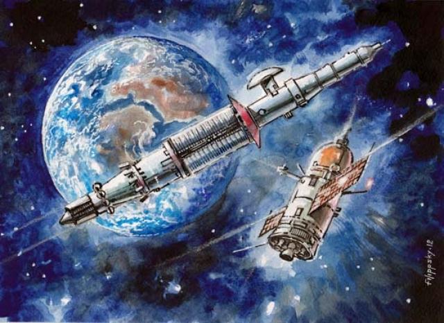 Будущий корабль обладал следующими параметрами: полная длина – 175 метров, максимальный диаметр – 4,1 метра, полная масса – 150 тонн.