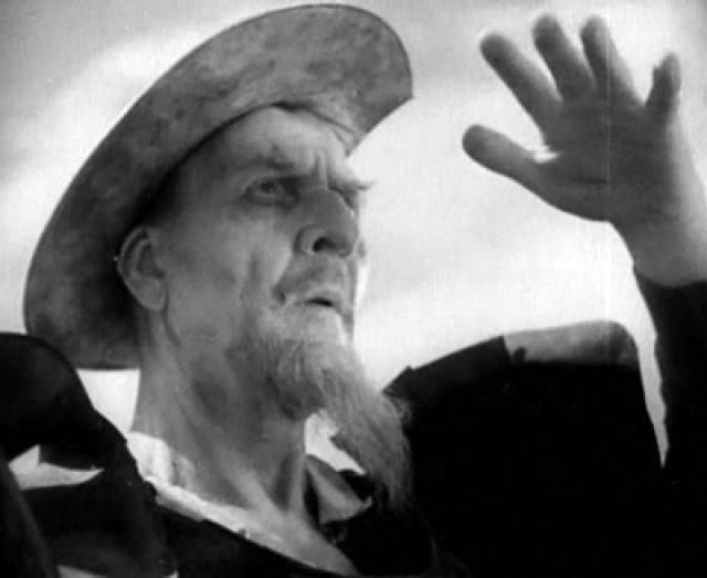 """В конце лета 1932 года Шаляпин снялся в кино, исполнив главную роль в фильме Георга Пабста """"Приключения Дон Кихота"""" по одноименному роману Сервантеса. Фильм был снят сразу на двух языках - английском и французском, с двумя составами актеров."""