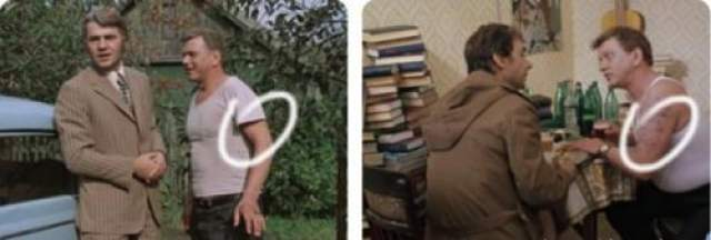 Николай (муж Антонины) на старости лет решает набить себе татуировку.