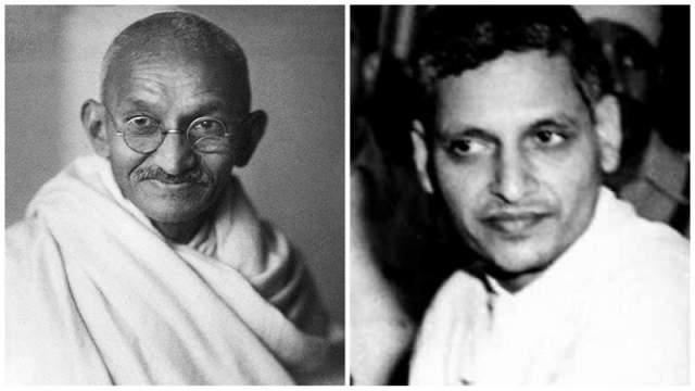 Натхурам Годзе. Жертва: Махатма Ганди. Ярый противник разделения Британской Индии на Индийскую Республику и Пакистан поплатился за свои взгляды 30 января 1948 года.