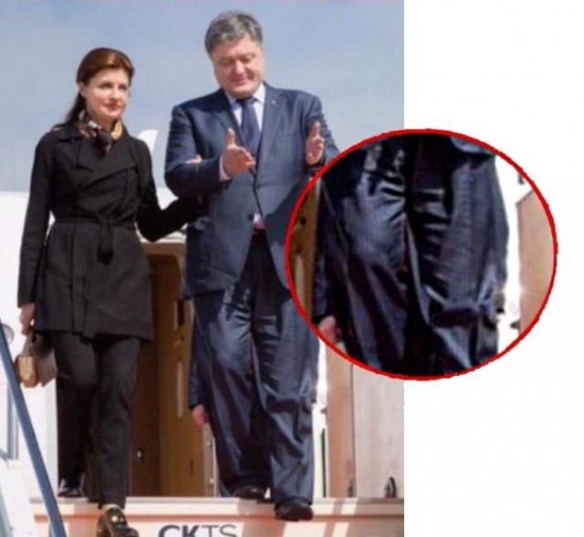 Пользователи Сети не перестают давать советы супруге Порошенко обратить внимание на гардероб мужа, но пока, видимо, безрезультатно.