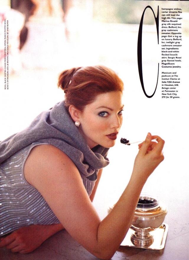 Кейт Диллон. Девушка начала работать моделью в 16 после того, как была замечена скаутом в кафе Сан-Диего. Она была классически худой моделью, однако заболела анорексией, а после курса лечения поправилась до 72 килограмм.