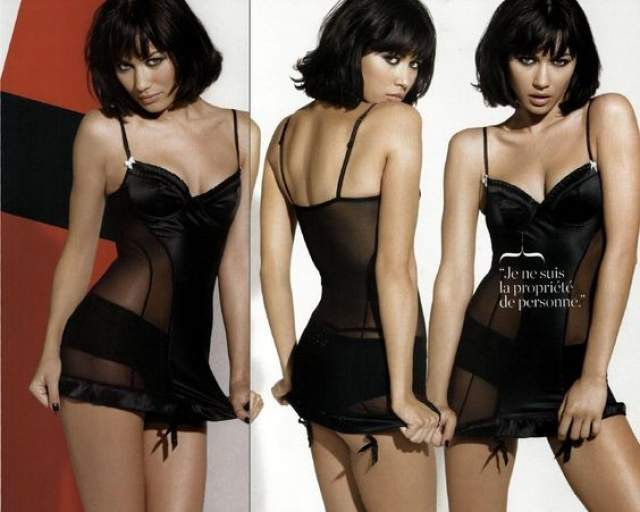 Ольга Куриленко. В 2009 году французская модель, родившаяся на Украине, заняла 22 место в рейтинге горячих красавиц.