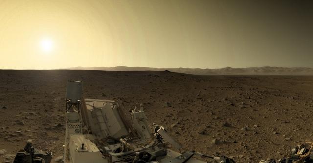 Вечер на Марсе.
