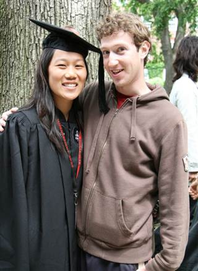 Марк Цукерберг и Присцилла Чан. Отец избранницы основателя Facebook - беженец из Вьетнама, а мать - уроженка Китая.