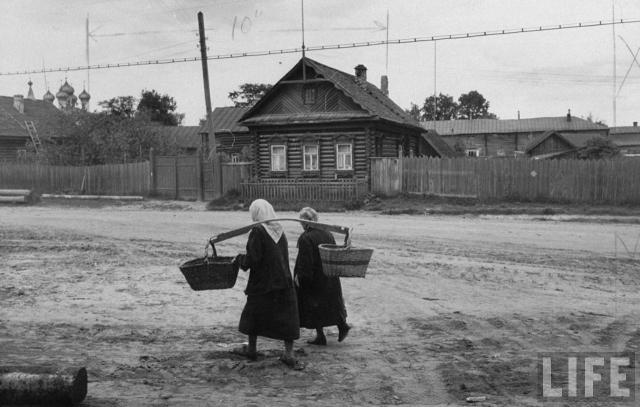 Сельские жительницы.