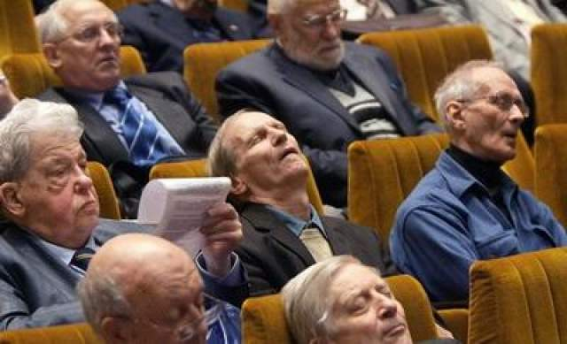 Общее собрание Российской академии наук в Большом зале РАН, 2009 год