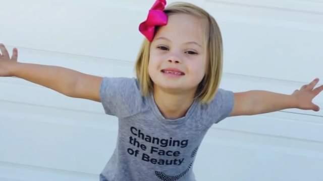 София Санчес, 10 лет. Девочка родилась на Украине и воспитывается в американской семье.