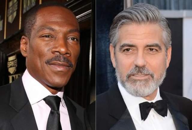 Эдди Мерфи и Джордж Клуни - 57 лет