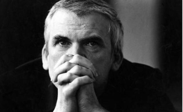 """Милан Кундера. В 1967 году. Вышел в свет первый роман Кундеры """"Шутка"""" - сатира на сталинизм в чехословацком стиле, который положил начало политическим преследованиям Милана Кундеры."""