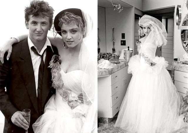 Как позже вспоминала Шер, которая была гостьей на свадьбе, Пенн убежал в дом, вернулся с пистолетом и принялся палить в воздух, только тогда вертолеты разлетелись. По словам очевидцам, несмотря на ярость жениха, Мадонна довольно ухмылялась - она обожала внимание прессы.