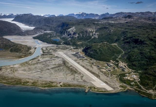 Аэропорт Нарсарсуак, Гренландия
