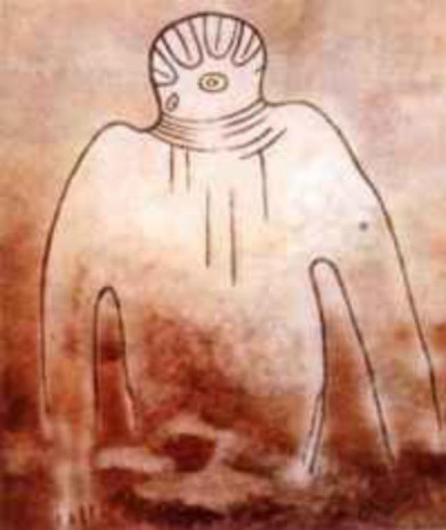 Это изображение относится приблизительно к 600 г. до нашей эры.