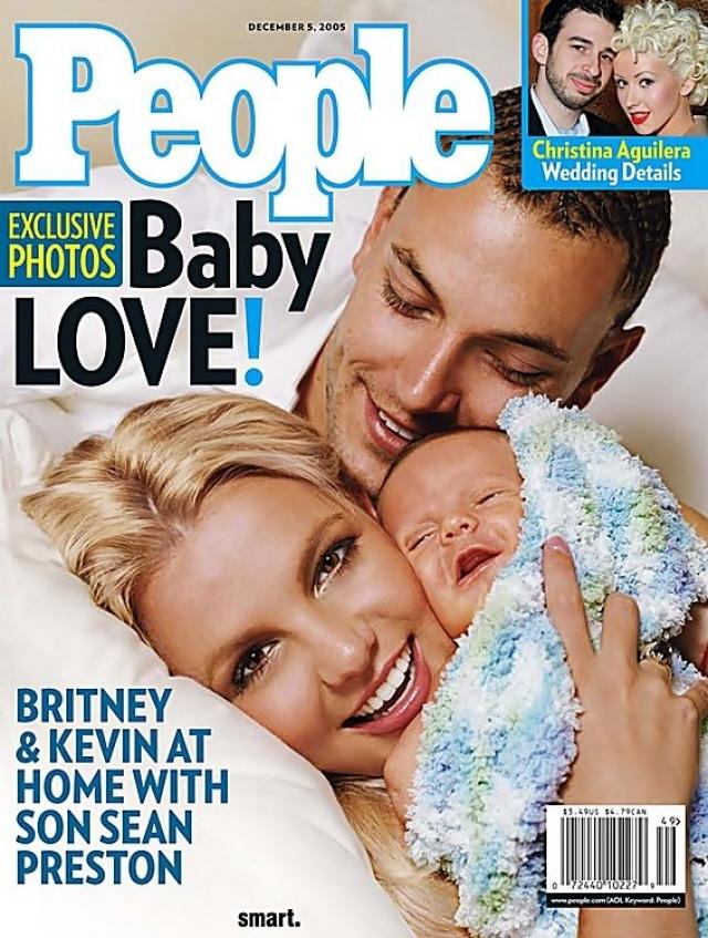 Роды проходили тяжело, врачам пришлось прибегнуть к операции кесарева сечения. Уже в первые месяцы жизни старший сын поп-звезды стал объектом внимания прессы.
