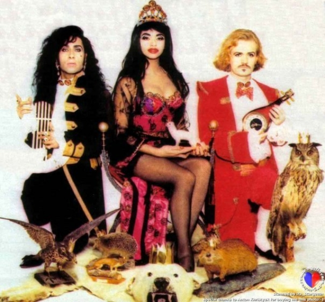 """""""Army of Lovers"""" . Шведская поп-группа, созданная в 1987 году и прославившаяся своей экстравагантной внешностью и откровенными видеоклипами режиссёра Фредрика Боклунда."""