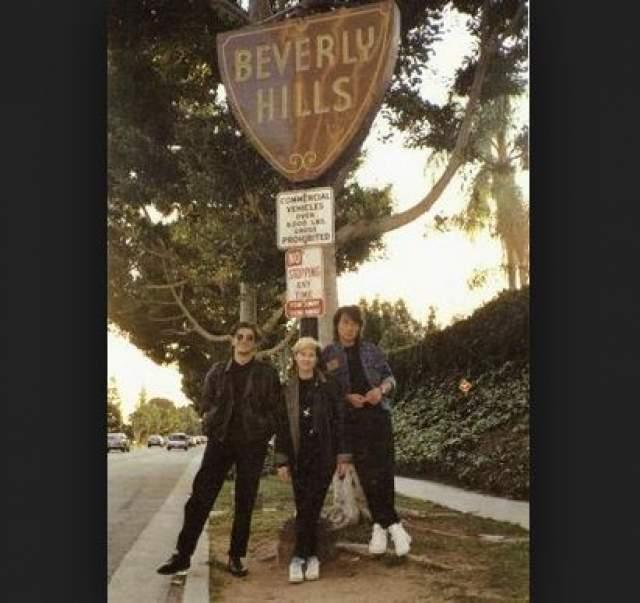 Юрий, Джоанна и Виктор в Лос-Анжелесе.