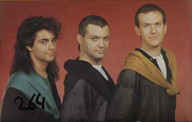 """Scotch. Итало-диско группа в составе Винса Ланчини, Фабио Маргутти и Франца Роме в 1982-м выпустили дебютный альбом Evolution, три песни из которого стали хитами в разных странах - это """"Disco Band"""", """"Take Me Up"""" и """"Delirio Mind""""."""