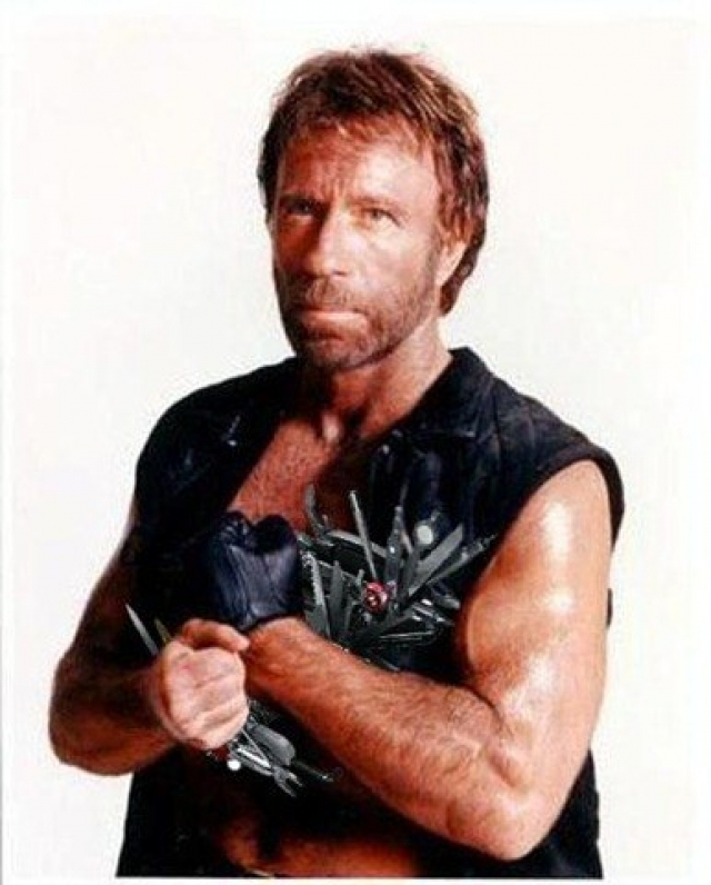Чак Норрис. До того, как стать героем интернет-мемов, Чак был известен российскому зрителю по фильмам с Брюсом Ли и подобным боевикам, позже успех ему принесла роль техасского рейнджера Уокера.