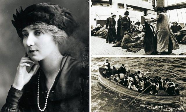 """Сам он погиб, как и многие другие члены экипажа, а Роберту подобрало судно """"Карпатия"""", на котором она добралась до Нью-Йорка. Там, в кармане пальто она обнаружила значок со звездой, который в момент расставания стюард положил значок ей в карман на память о себе."""