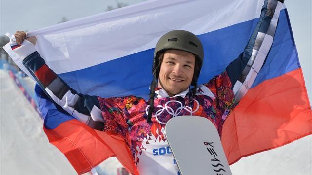 Вик Уайлд. Уроженец штата Вашингтон сноубордист отправился в Россию во первых потому, что женился на россиянке, а во вторых, поскольку американские спортивные чиновники обделяли вниманием и финансами его вид спорта.