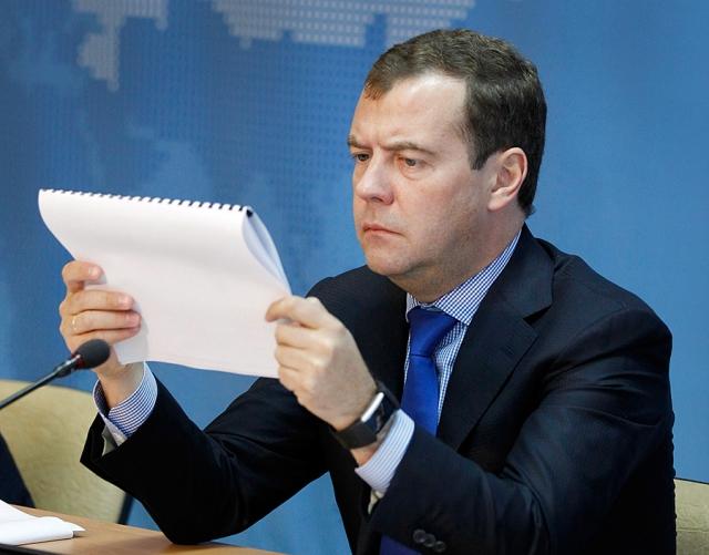 """Дмитрий Медведев : """"Я могу вам сказать только одно - никто никогда не вернется в 2007 год потому, что на дворе 2011 год""""."""
