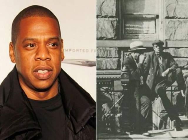 Jay-Z и мужчина из Гарлема на фотографии, сделанной в 1939 году