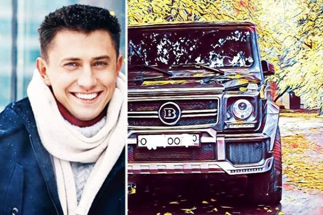 Павел Прилучный. Актер в минувшем году купил Gelandewagen Brabus, цена которого варьируется в районе 20 млн рублей.