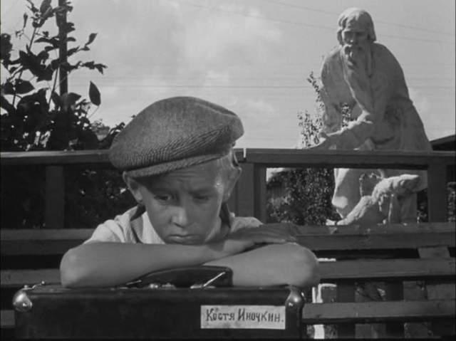 """Виктор Косых, """"Добро пожаловать, или Посторонним вход воспрещен"""" (1964). Сыграл роль пионера Кости Иночкина. Его называли звездным мальчиком советского кинематографа."""