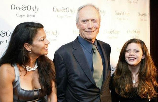 Клинт Иствуд. Режиссер и звезда вестернов стал отцом в 66 лет, жена Дина Руиз родила ему дочь Морган.