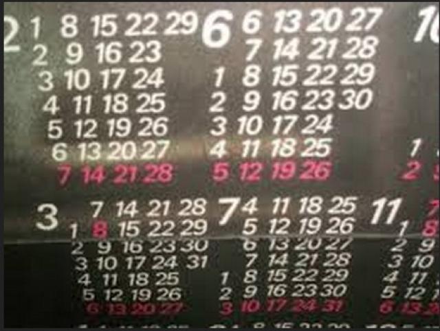 На календаре дата арзамасской катастрофы была отмечена типографским браком. 4 июня была полуобведена типографским способом на всех экземплярах этого календаря,которые в 1988 году были в обращении в СССР.