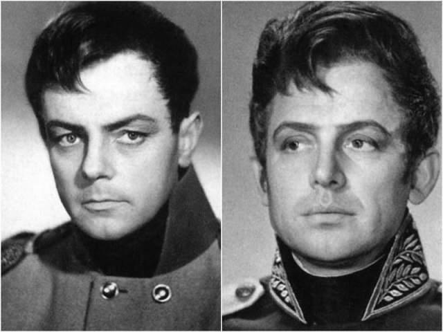 А это фотопробы на роль Болконского: Кирилл Лавров и Иннокентий Смоктуновский...