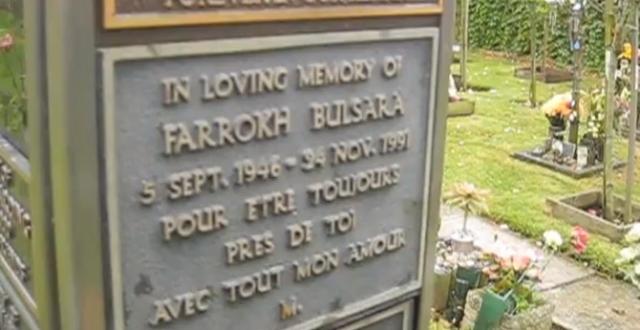 Тело Фредди Меркьюри было кремировано. Только его семья и Мэри Остин знали, где покоится прах музыканта — таким было его желание. В начале 2013 года издание The Daily Mirror сообщило, что место упокоения праха артиста обнаружено поклонниками — это кладбище Кенсал Грин в Западном Лондоне.