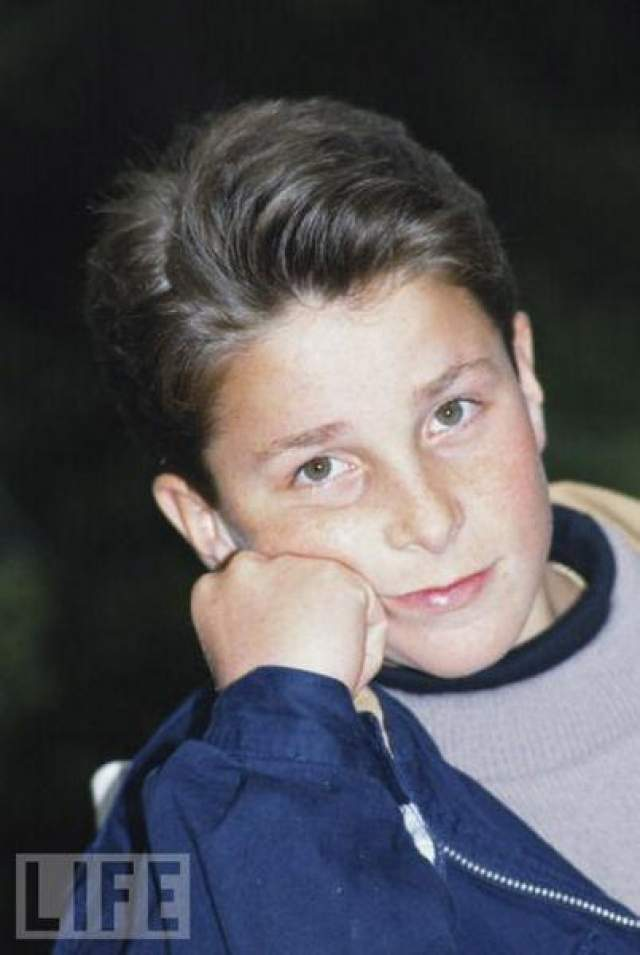 Кристиан Бэйл в 14 лет