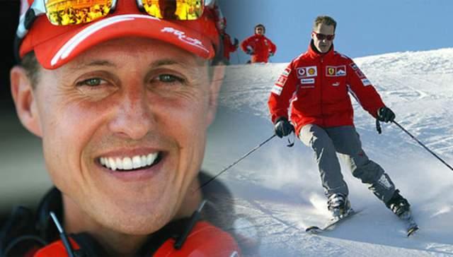 Михаэль Шумахер. В декабре 2013 года Михаэль Шумахер, катаясь на горных лыжах, упал, потеряв равновесие, и ударился головой об камень, что привело к кровоизлиянию в мозг. Чтобы остановить отек, медики ввели спортсмена в шестимесячную искусственную кому.