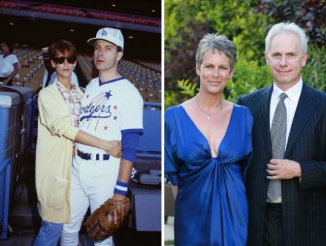 Джейми Ли Кертис и Кристофер Гест, 34 года в браке.