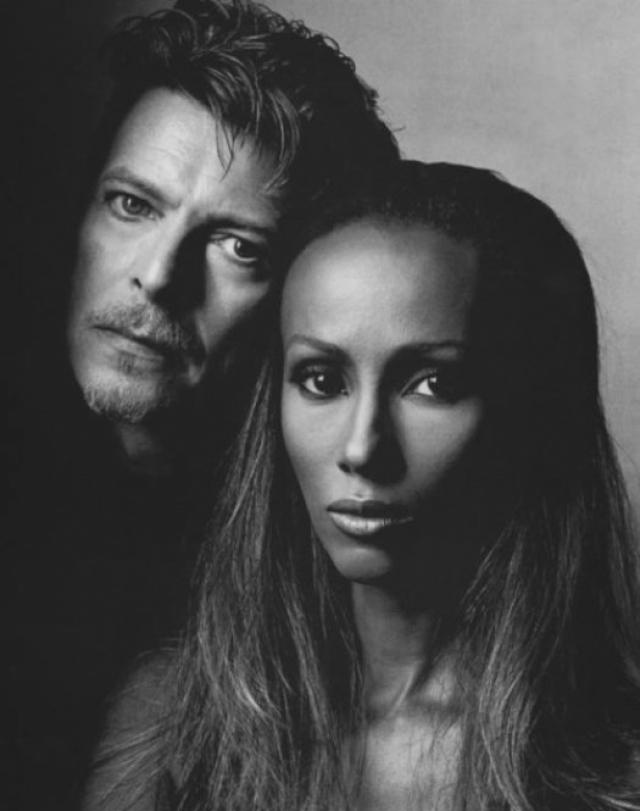 Забеременеть Иман смогла после 8 лет брака в 44-летнем возрасте. В августе 2000 года у Боуи и Иман родилась дочь, которую назвали Александрией Захрой.
