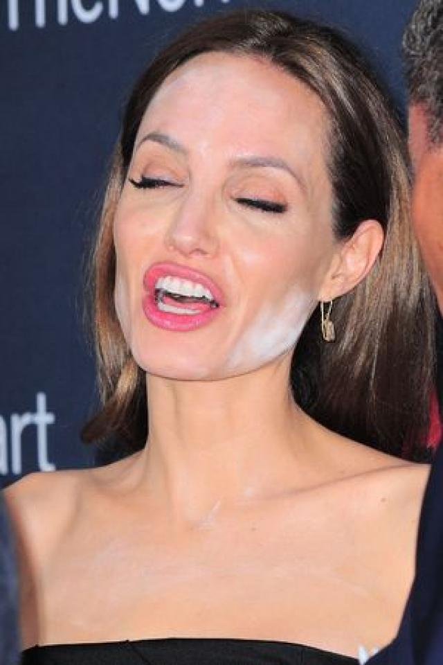 Гримеры Анджелины Джоли перестарались - а ей отдуваться.