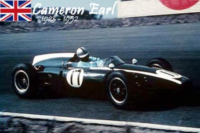 Кэмерон Эрл был первым человеком, погибшим на Формуле-1. Он не был автогонщиком, а был британским автоинженером, участвовавшим в разработке двигателей британских гоночных каров. И консультировал пилотов британской команды.