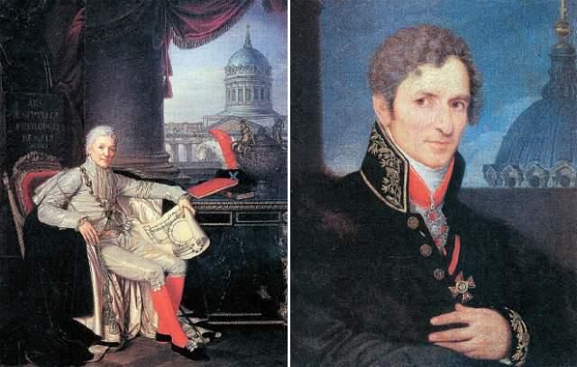При всем этом Воронихин родился в семье крепостных крестьян, принадлежавших графу Александру Строганову. Тот, будучи президентом Академии художеств, заметил талант мальчика, и отправил его учиться.