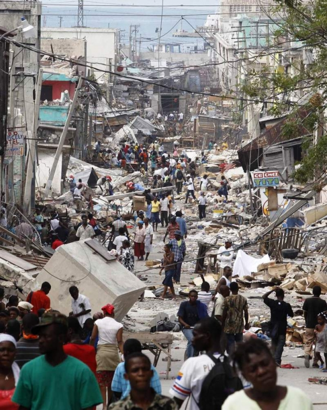 essay about earthquake in haiti