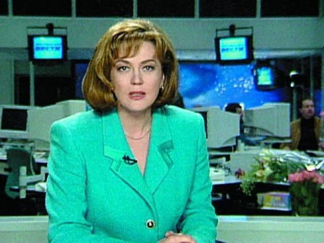 """С мая 2001 года до января 2002 года работала на канале ТВ-6 в информационной программе """"Сегодня на ТВ-6"""" и ток-шоу """"Глас народа""""."""