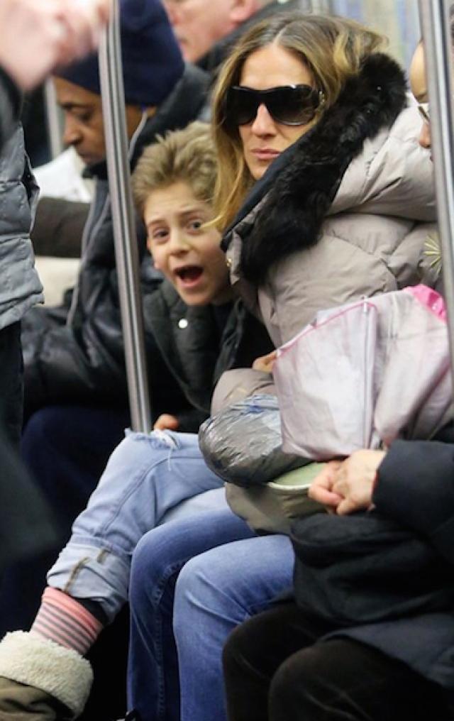 Сара-Джессика Паркер с сыном