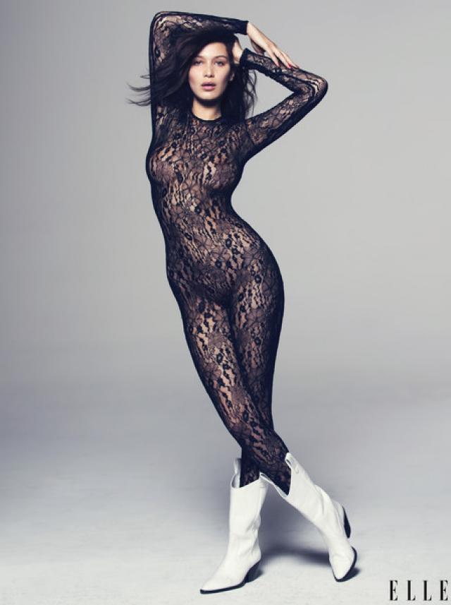 """Белла Хадид - американская модель, подписавшая контракт с IMG Models в 2014 году, а в 2016 году получившая премию """"Модель года""""."""