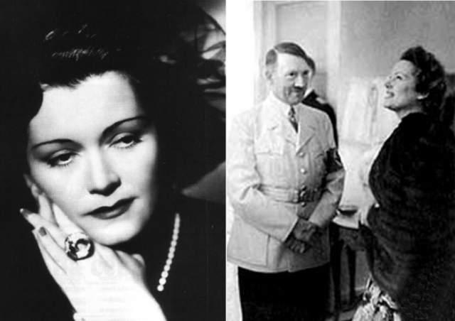 Геббельс ненавидел актрису из-за того, что она отвергла его. Но при этом ей симпатизировал сам фюрер. В апреле 1945 Ольгу арестовала советская разведка СССР, шпионку отвезли в Москву. После этого она побывала в Западном Берлине, а затем переехала в ФРГ. Этот визит был окутан тайной.