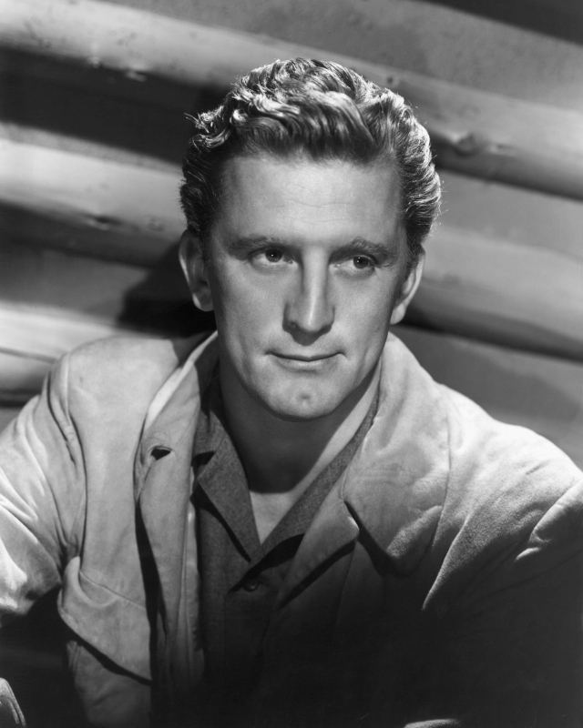 """Кирк Дуглас. Один из последних корифеев """"золотого века"""" Голливуда, пришедший в кино еще в середине 40-х."""