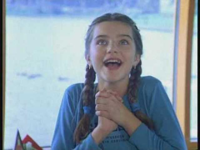 """Анастасия Сиваева. В киножурнал девочка попала в 2004 году, снявшись в трех эпизодах: """"Соперницы"""", """"Верну любимого"""" и """"Проверка на прочность""""."""