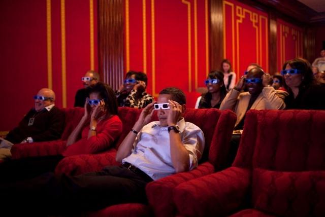 """Любимые фильмы американского президента - """"Касабланка"""" и """"Пролетая над гнездом кукушки""""."""