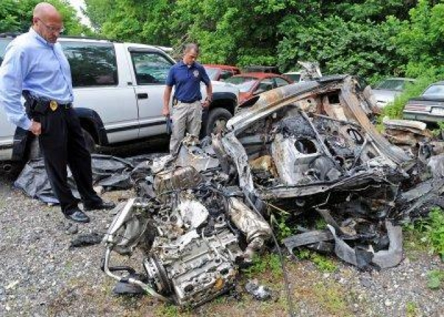Автомобиль Данна марки Porsche, за рулем которого он находился, на высокой скорости вылетел в лесополосу, врезался в дерево и загорелся. До прибытия медиков машина выгорела дотла.