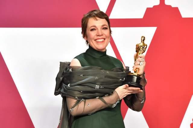 Оливия Колман в Prada. Конкурентка Вайс, одолевшая ее в номинации, тоже отличилась в худшем плане.