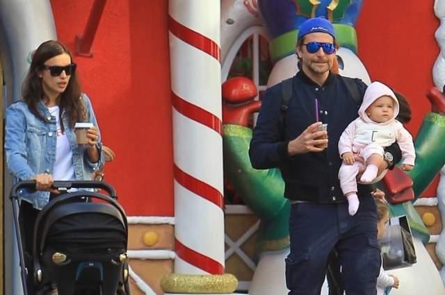 Они познакомились с голливудским актером вскоре после расставания с футболистом Криштиану Роналду, а Купер тогда, в 2013-м, разошелся с моделью Сьюки Уотерхаус. Вскоре у пары родилась дочь Лея.